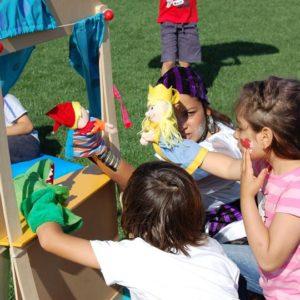 Teatro de Fantoches | Oficina de Sonhos - Animação e Decoração de Eventos Algarve