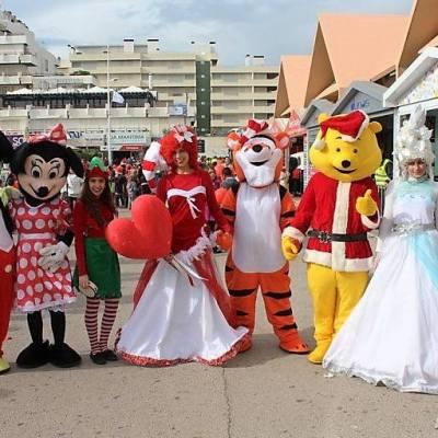 Animação de Rua Natal | Oficina de Sonhos - Animação e Decoração de Eventos Algarve