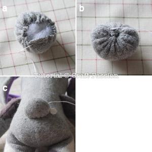 Como Fazer Coelhinho de Meia Passo a Passo