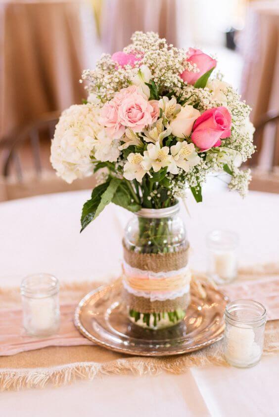 21 Ideias Lindas de Decoração de Casamento Simples 7 21 Ideias Lindas de Decoração de Casamento Simples
