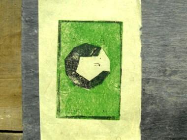 gravura linóleo