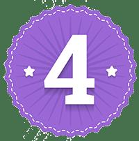 Números emblema 4