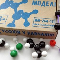 Набір для складання моделей просторових молекул