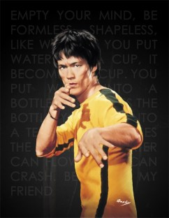 Be Like Water By Bruce Lee