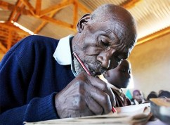 The Oldest Student In The World
