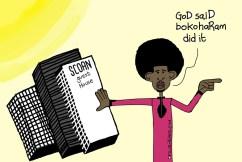 TB Joshua Said God Said #BokoHaram Did It