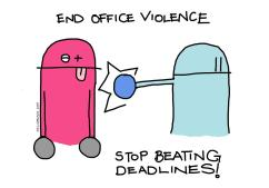 End The Office Violence