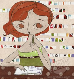 The Girl Who Refused To Write Her Book