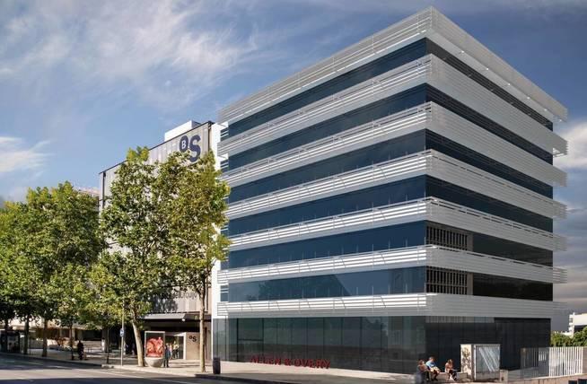 Exterior de la nueva sede de Allen & Overy.