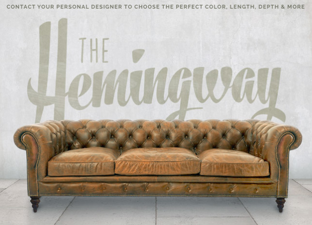 Hemingway Custom Chesterfield Sofa