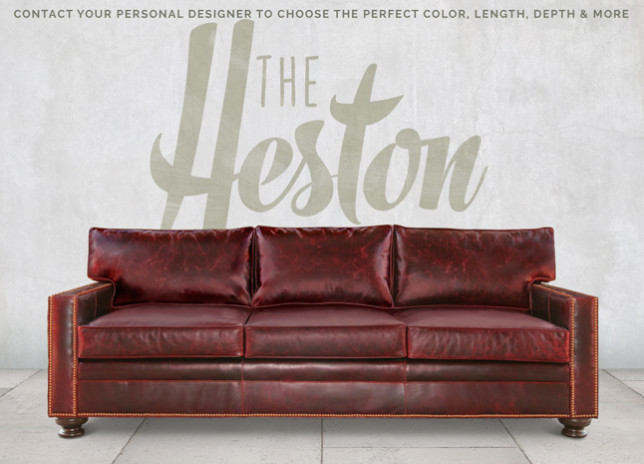 Heston Petite Track Arm Sofa