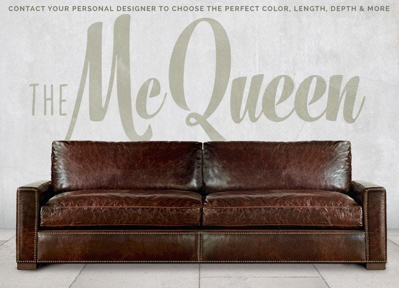 McQueen Track Arm Sofa