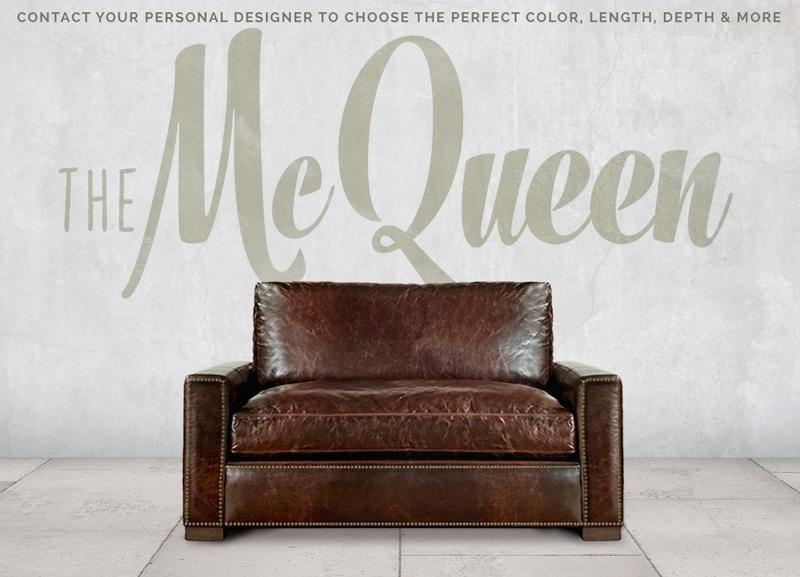 McQueen Track Arm Chair
