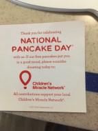 National Pancake Day 2017 2