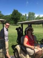 Drew and Katie - Golf team