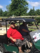 John C and Mike B on Drink Cart