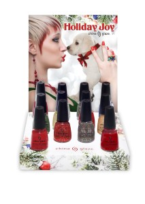 China Glaze Holiday Joy Collection 2012