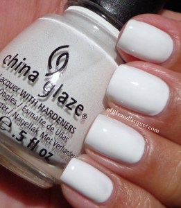 China Glaze White Out Swatch