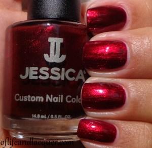 Jessica Heart's Desire Swatch Glamarama