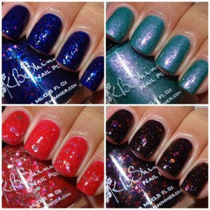 KBShimmer Fall 2013 Collection