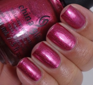 China Glaze Santa Red My List 2
