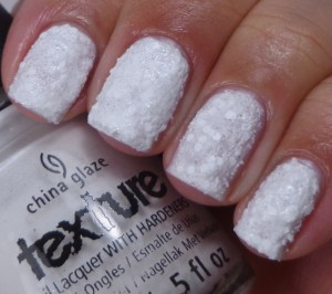 China Glaze There's Snow One Like You 1