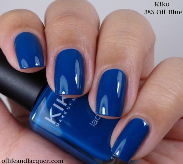 Kiko 383 Oil Blue 1a