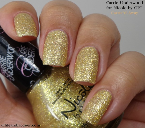 Nicole by OPI Carrie'd Away 1a