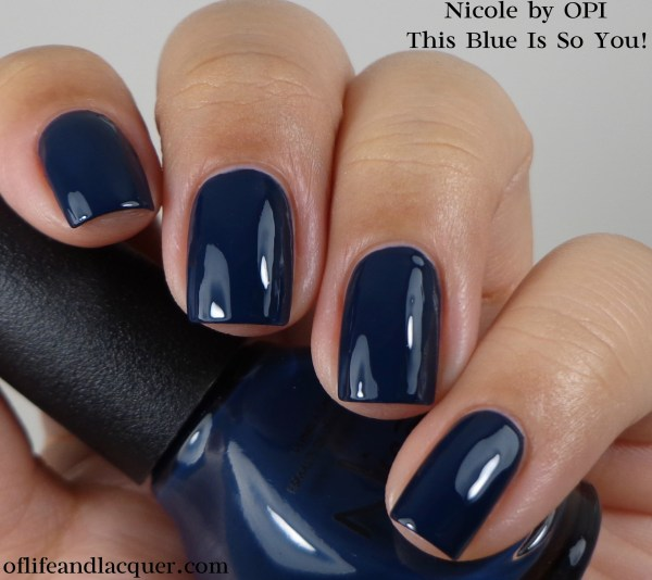 Nicole by OPI This Blue Is So You! 1a