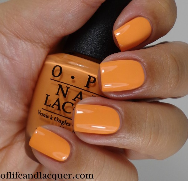 OPI Where Did Suzi's Man-go 2a