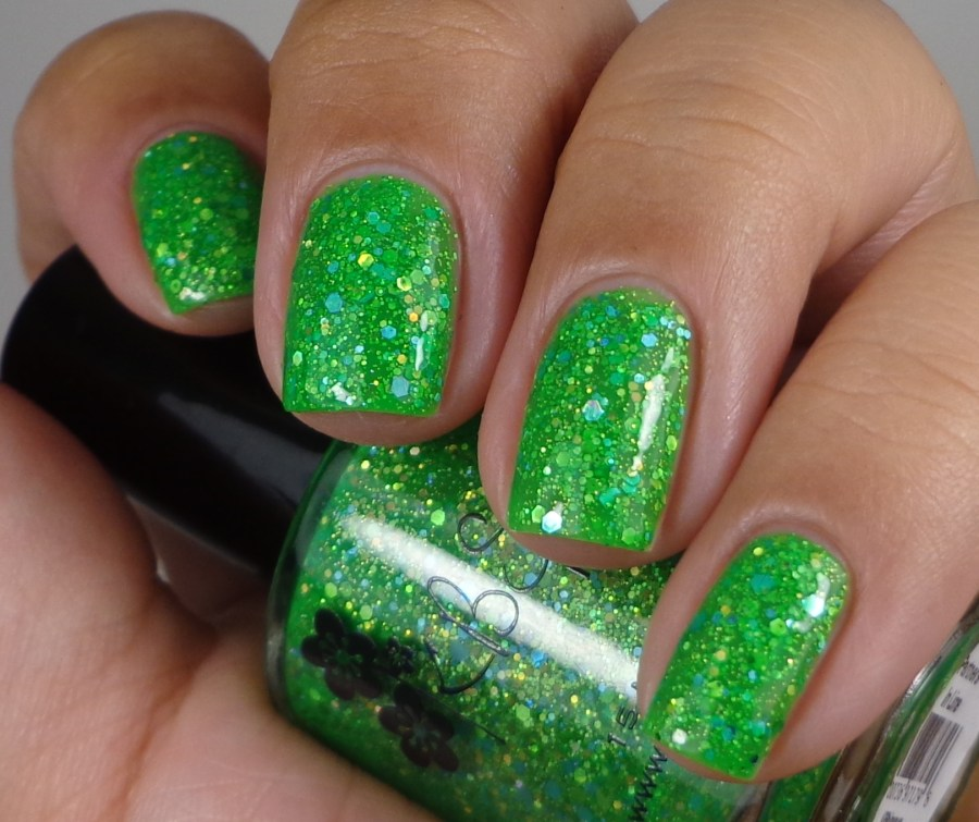 KBShimmer Partners In Lime Glossy 1