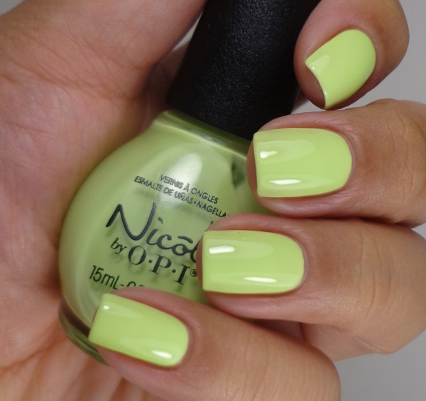 Nicole by OPI Lay It On The Lime 2