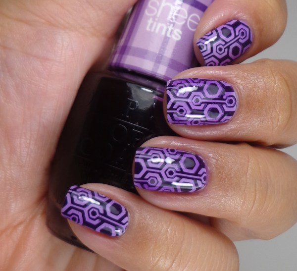 OPI Don't Violet Me Down 2