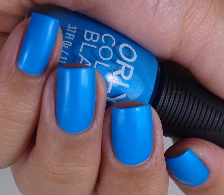 Neon Blue Nail Polish: Orly Color Blast Bright Blue Neon