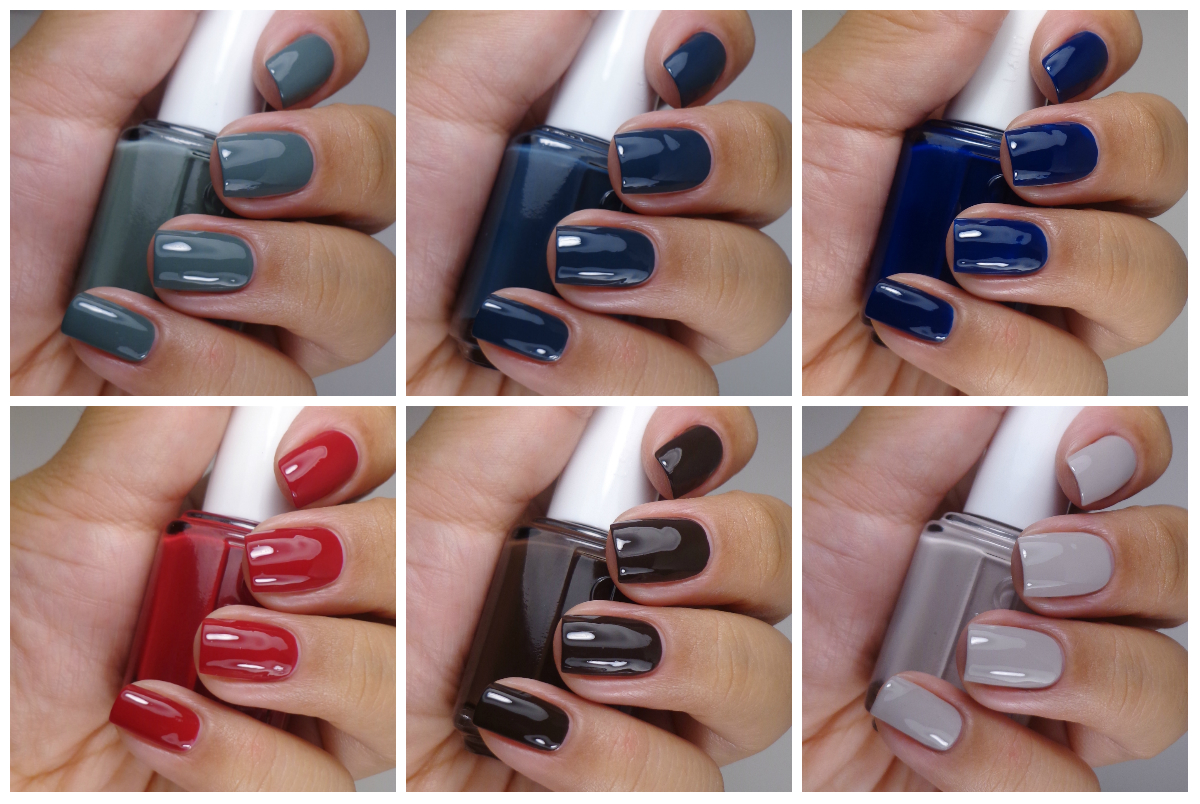 Essie Dress To Kilt Collection Fall 2014