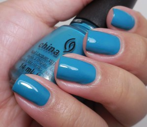 The Lacquer Ring – Teal