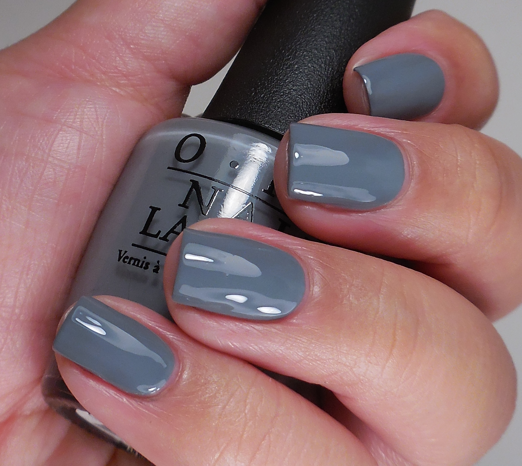 What Nail Color Is In: OPI 50 Shades Of Grey Collection