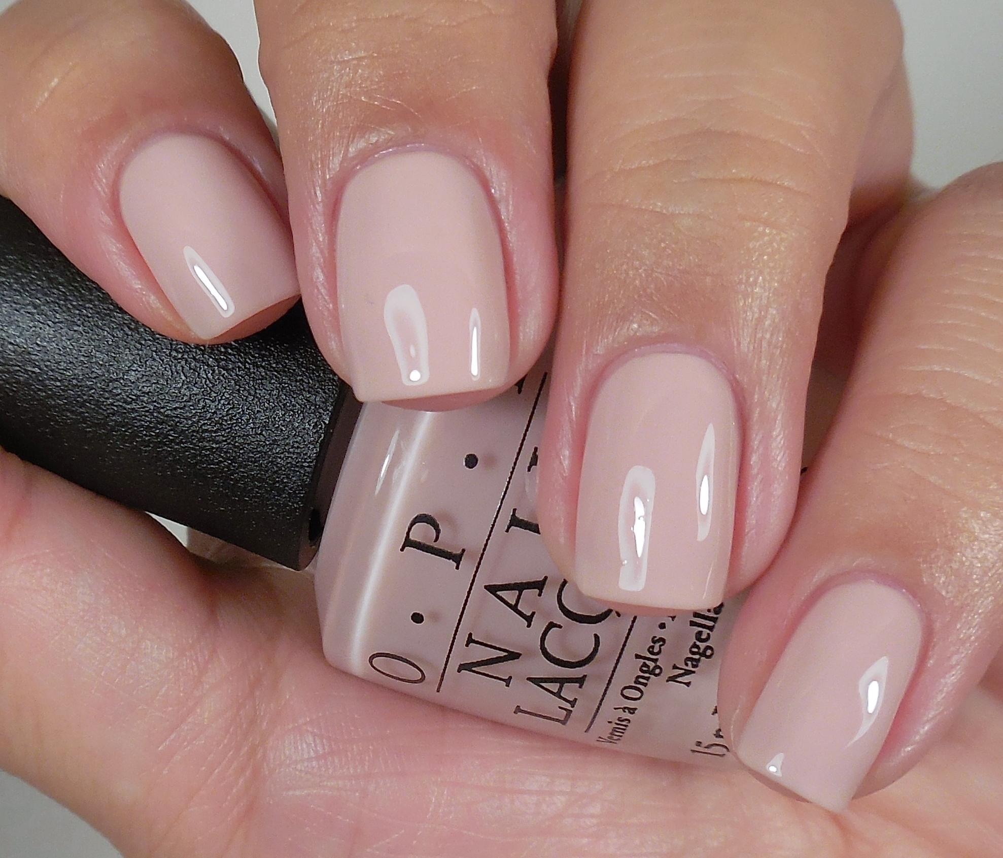 Top Nail Polish Colours: OPI Soft Shades Collection 2015