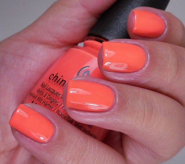 China Glaze Red-y to Rave 2