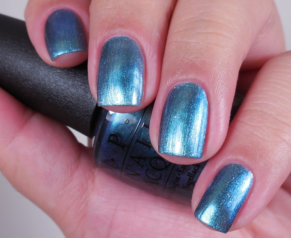 OPI This Color's Making Waves 1
