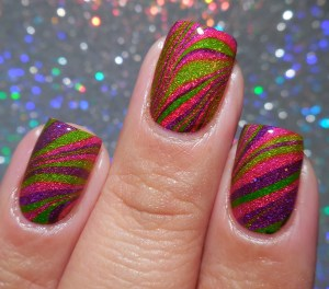 OPI Color Paints Watermarble