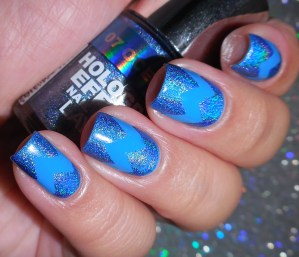 The Lacquer Ring – Holographic Blue