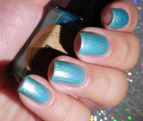 Seventy Seven Nail Lacquer Aquamarine 2