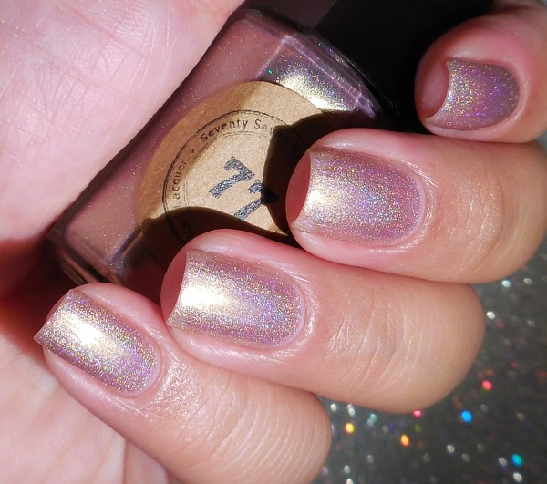 Seventy Seven Nail Lacquer Vintage Rose 2