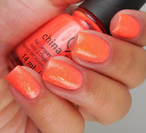 China Glaze Papa Don't Peach 2