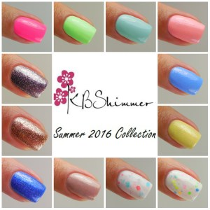 KBShimmer Summer Collection 2016