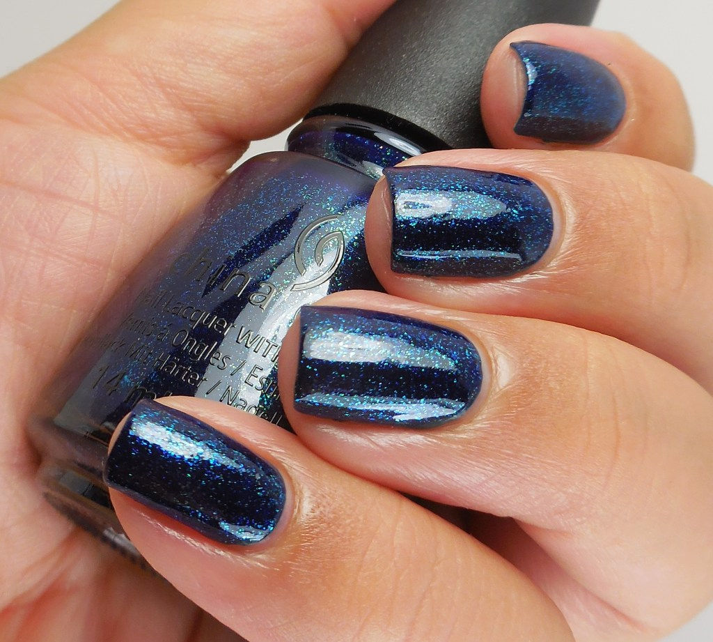 China Glaze Blue-Ya! 2