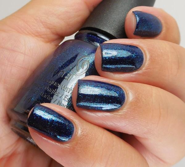 China Glaze Blue-Ya! 2