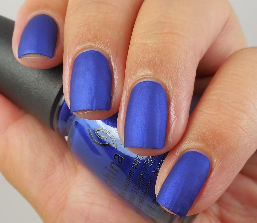 China Glaze Combat Blue-ts 1