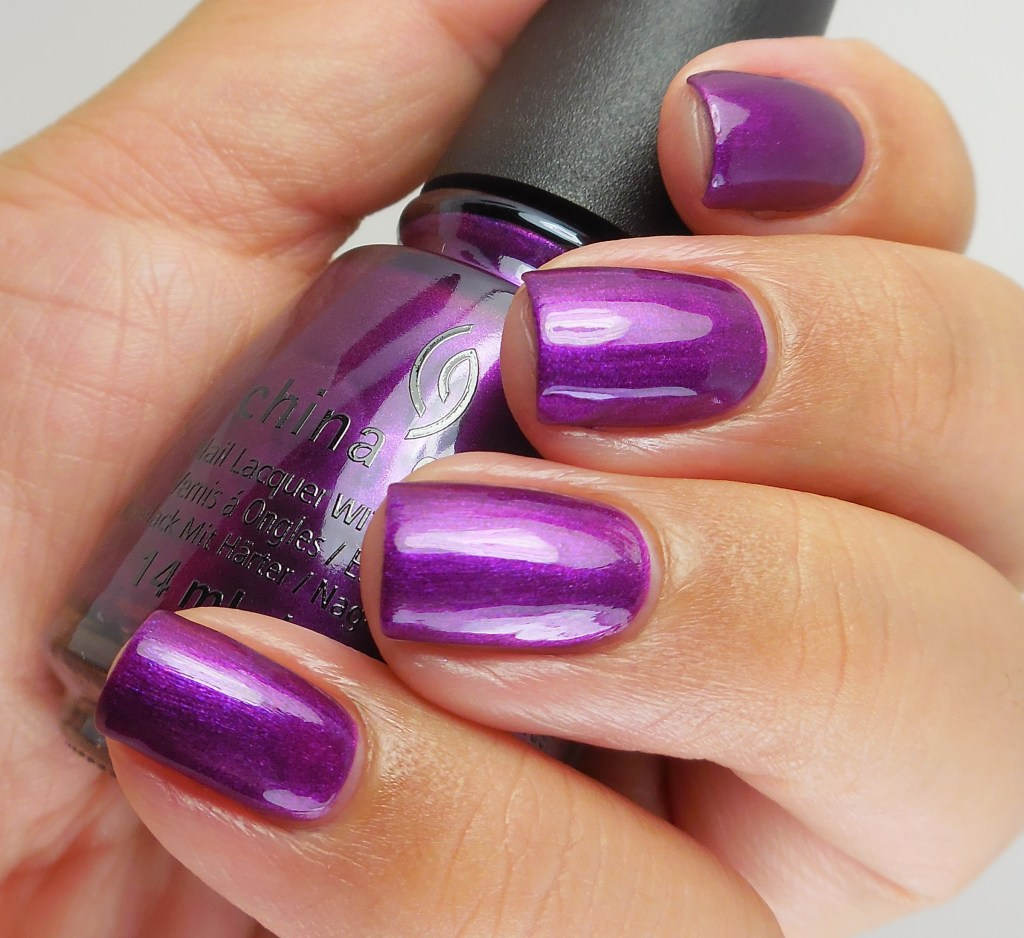 China Glaze Purple Fiction 2